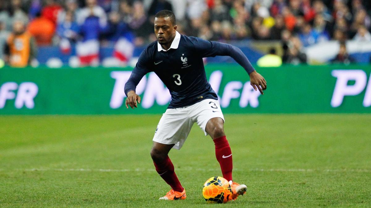 Patrice Évra, équipe de France