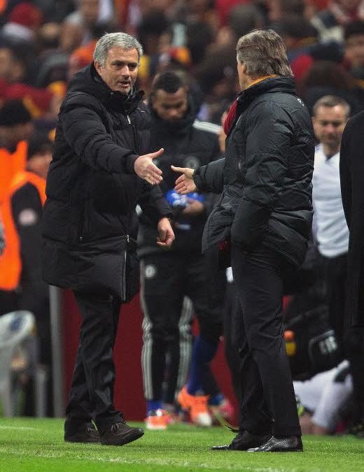 José Mourinho, Roberto Mancini