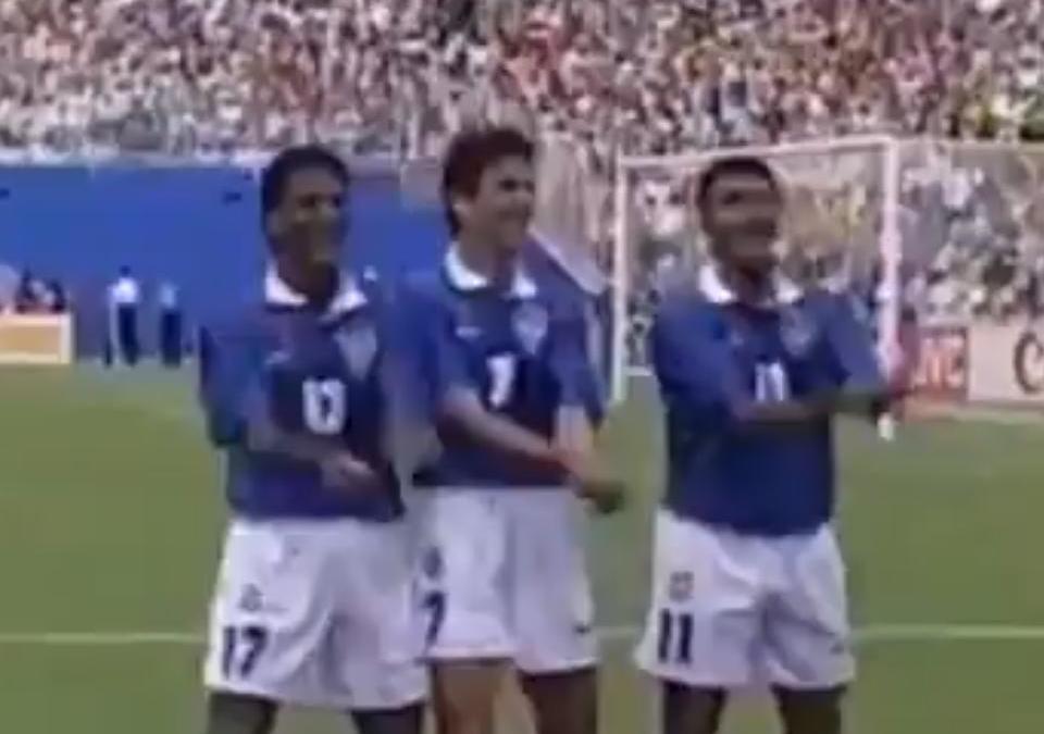 Coupe du monde 2014 coupe du monde 1994 la mythique c l bration de bebeto vid o - Coupe du monde football 1994 ...