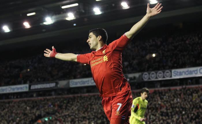 Liverpool : Quand Luis Suarez entre dans l'histoire des Reds…