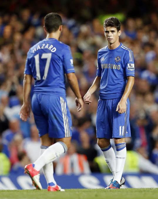 Eden Hazard, Oscar, Chelsea