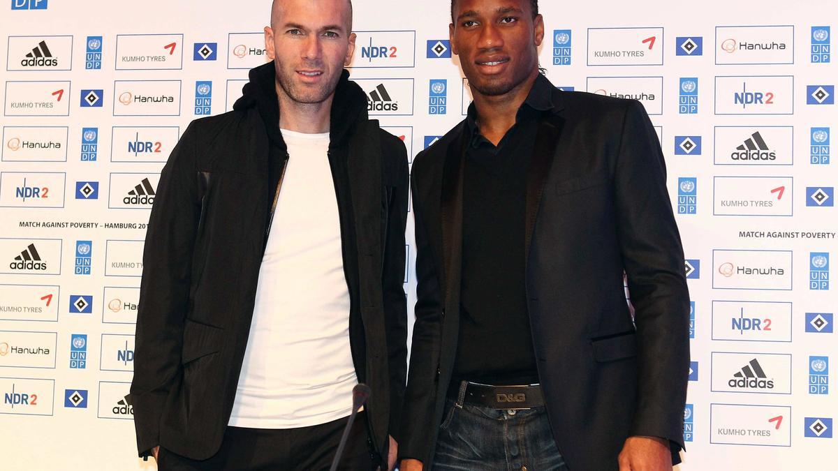 Zinedine Zidane - Didier Drogba