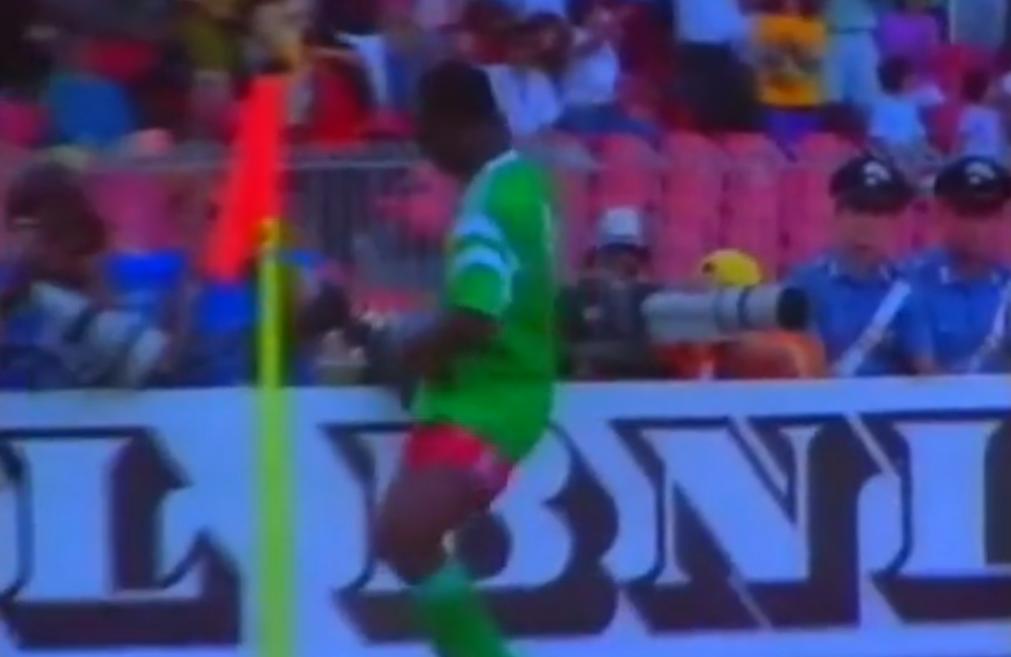 Coupe du monde 1990 : La danse de Roger Milla (vidéo)