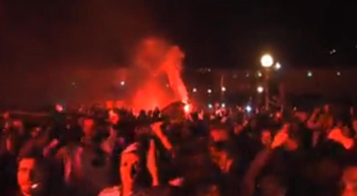 ASSE : La fête après la victoire lors du derby (vidéo)