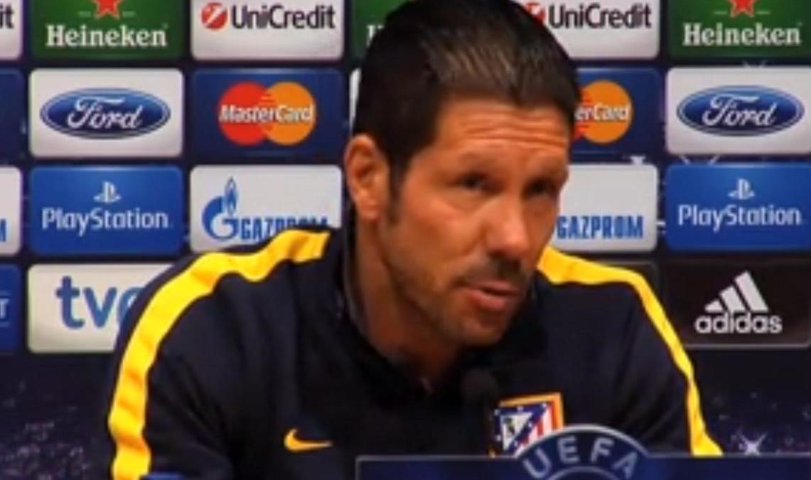 Ligue des Champions - Barcelone/Atlético Madrid - Simeone : «Confronté au meilleur Barça» (vidéo)