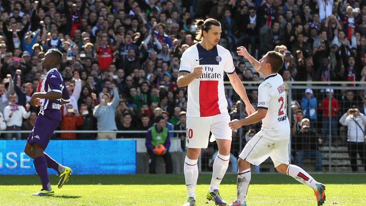 Zlatan Ibrahimovic - Marco Verratti