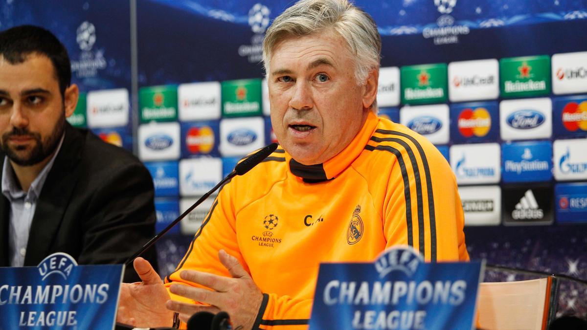 Real Madrid - Ancelotti : «Bale ne sera pas latéral gauche» (vidéo)