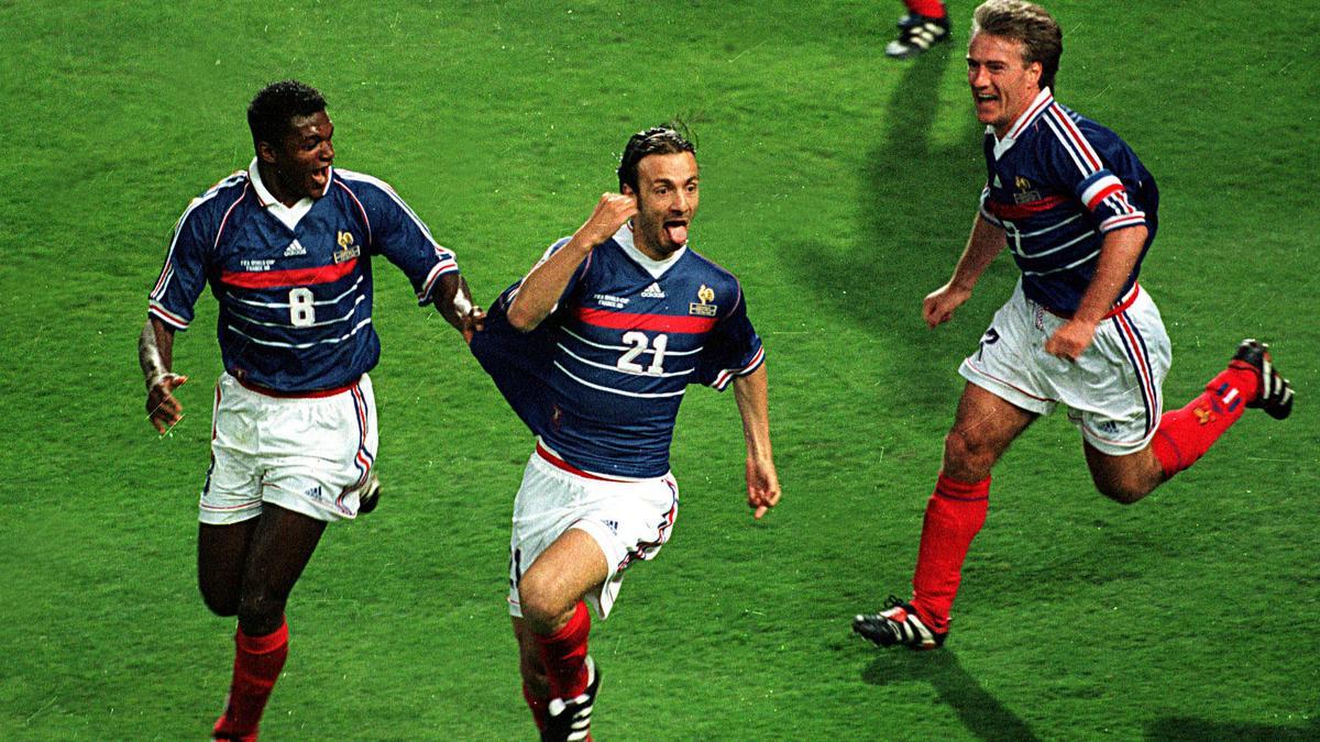 Coupe du monde 2014 coupe du monde 1998 quand dugarry tire la langue aux journalistes vid o - Coupe du monde de foot 1998 ...