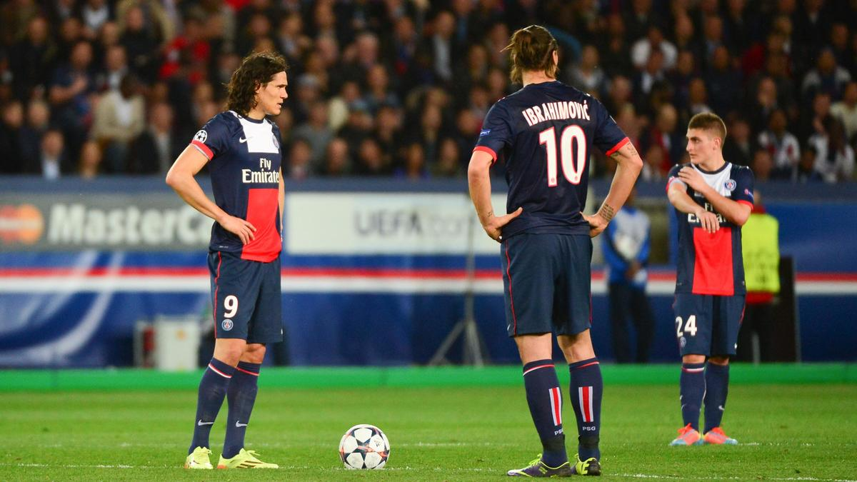 Edinson Cavani - Zlatan Ibrahimovic