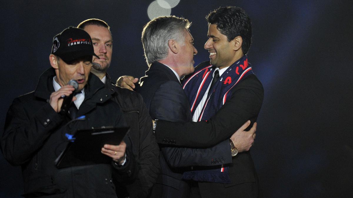 PSG : Le petit tacle de Nasser Al-Khelaïfi à Carlo Ancelotti !
