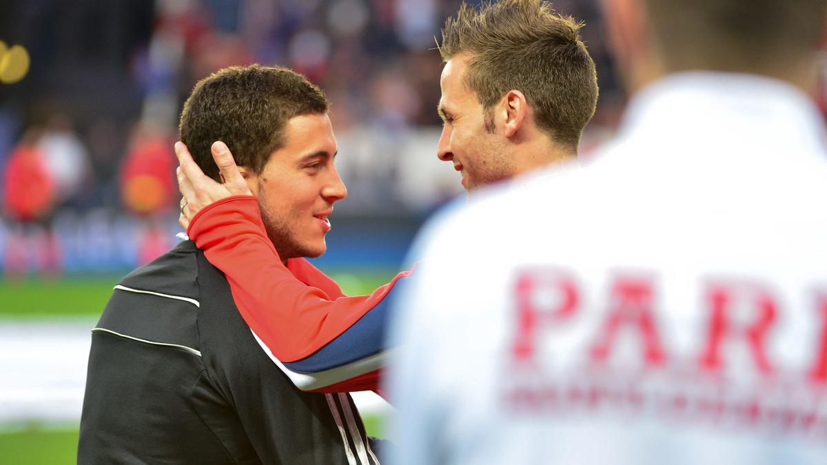 Eden Hazard & Yohan Cabaye