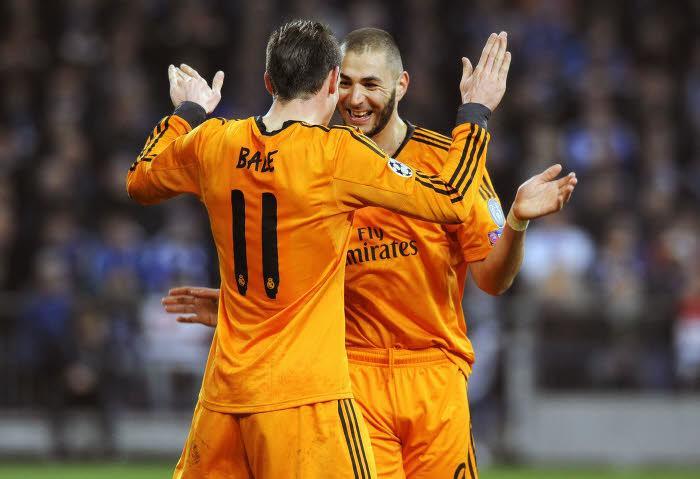 Gareth Bale et Karim Benzema, Real Madrid