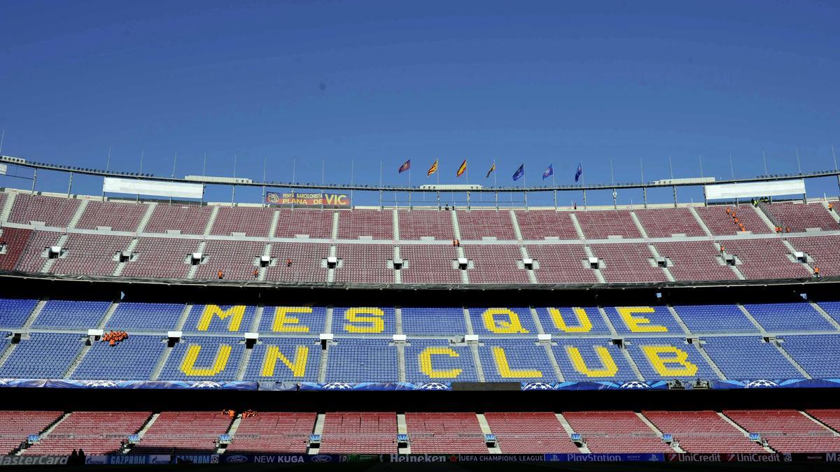 Camp Nou, Barcelone
