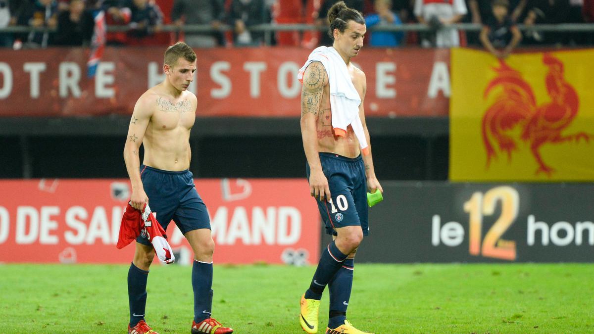 Lucas Digne - Zlatan Ibrahimovic