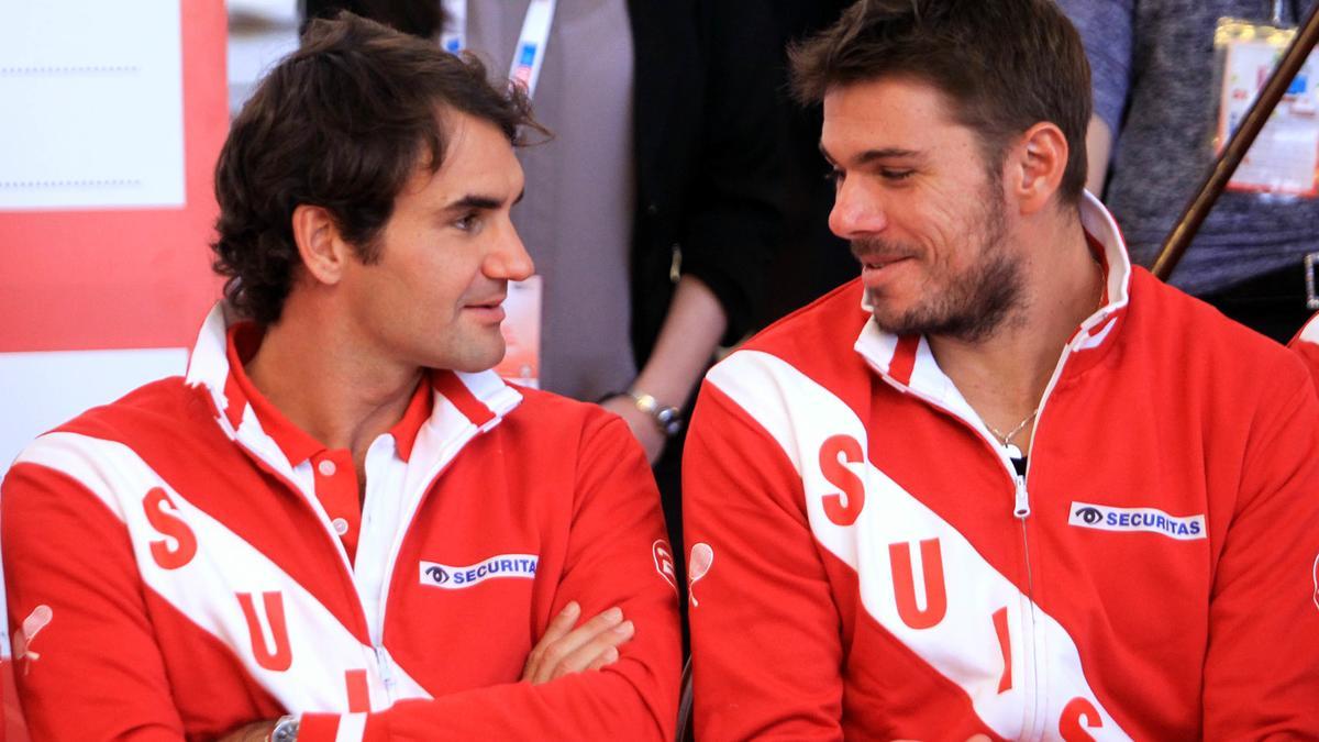 Roger Federer & Stanislas Wawrinka