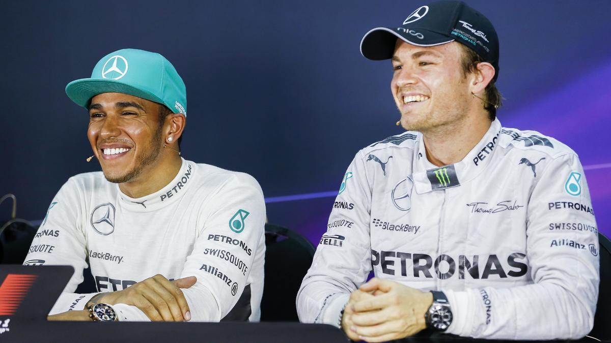 Lewis Hamilton & Nico Rosberg, Mercedes
