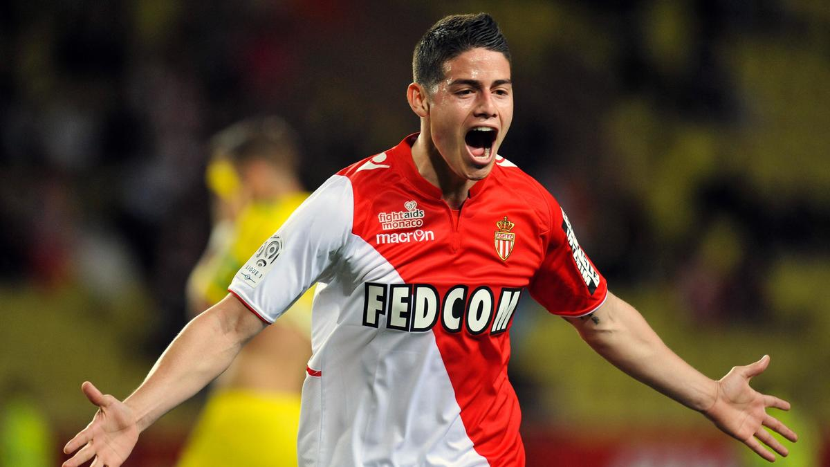 James Rodriguez, AS Monaco