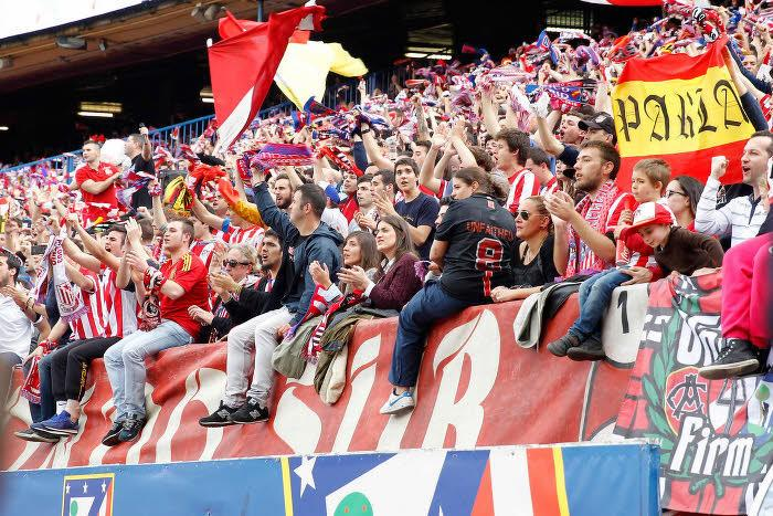 Supporters Atlético Madrid