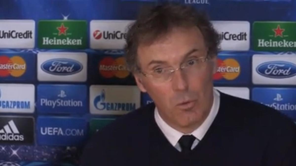 Ligue des Champions - Chelsea/PSG : Laurent Blanc : «Ça ne se joue vraiment pas à grand chose» (vidéo)