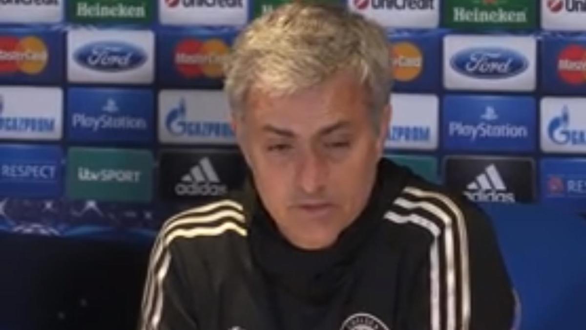 Ligue des Champions - Chelsea/PSG : José Mourinho : «Les joueurs ont montré notre ambition» (vidéo)