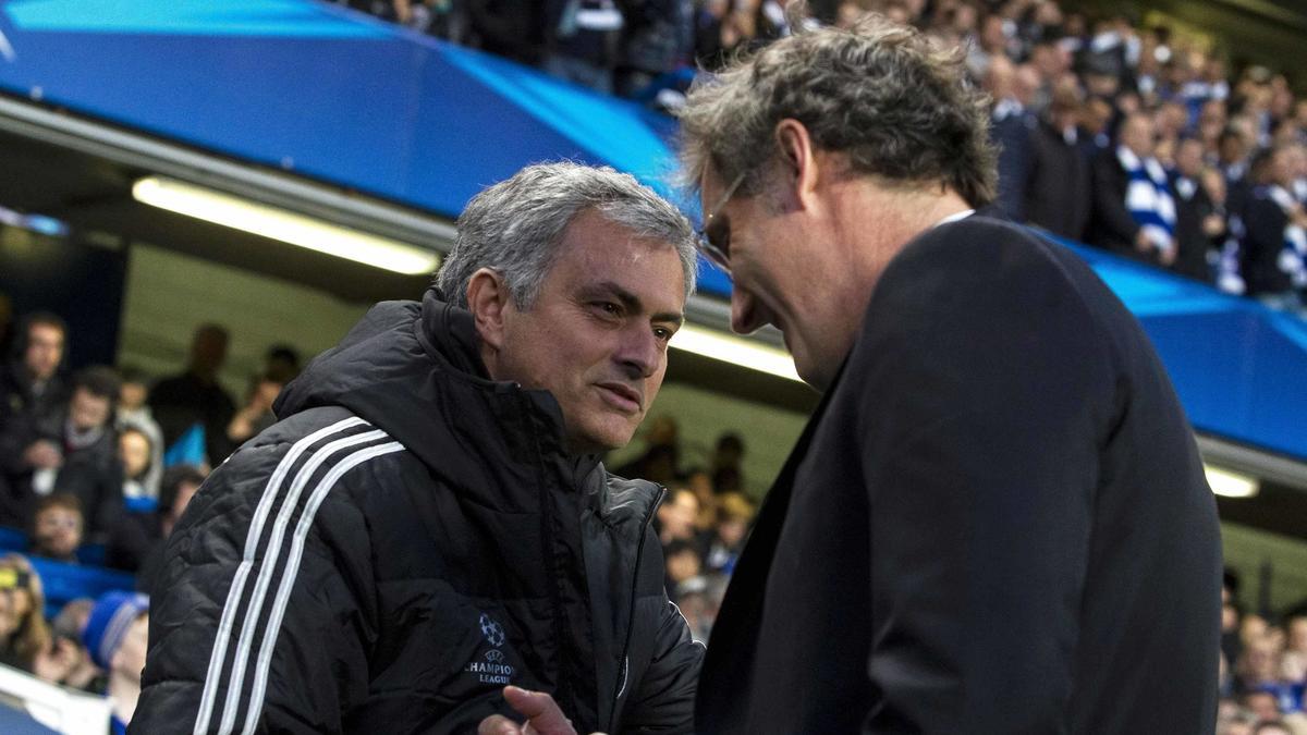 José Mourinho - Laurent Blanc