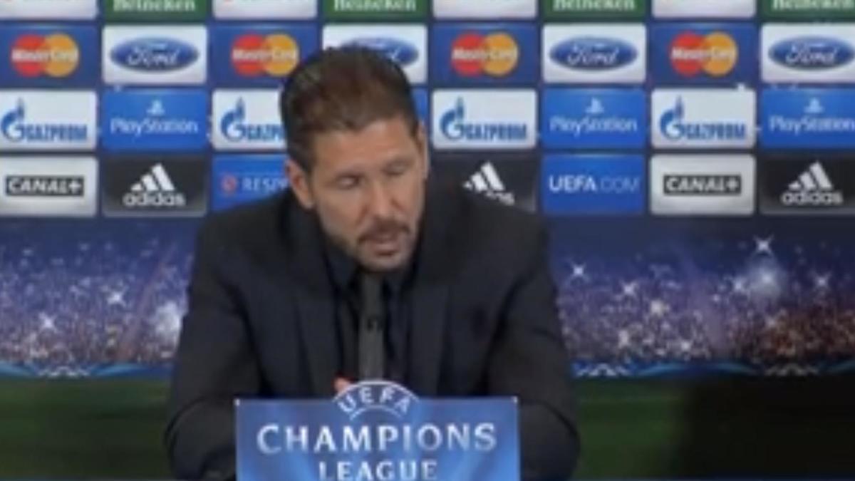 Ligue des Champion - Atlético Madrid - Simeone : «Le Barça reste une grande équipe» (vidéo)