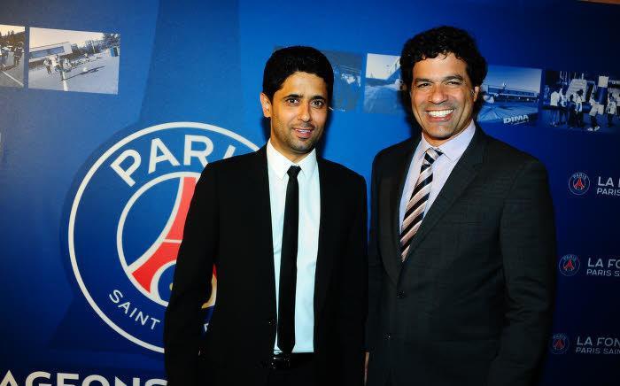 Raï et Nasser Al-Khelaïfi, PSG
