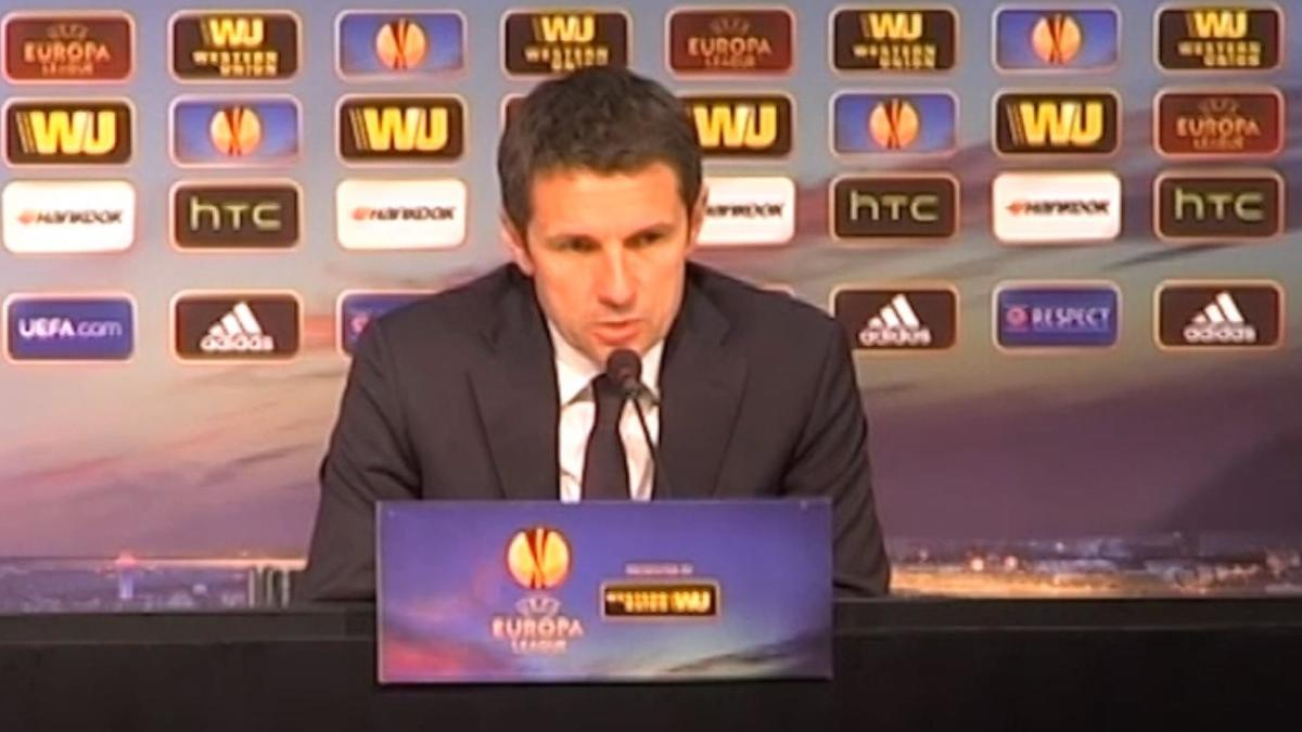 Europa League - OL - Garde : «Très fier de mes joueurs» (vidéo)