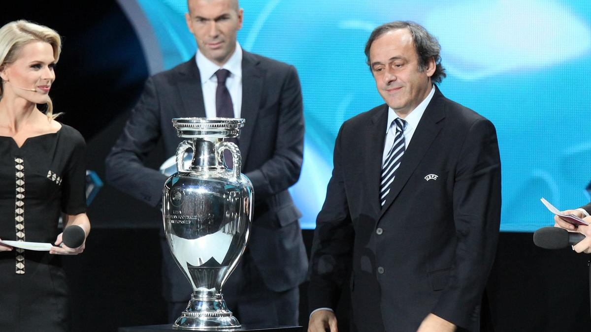 Zinedine Zidane - Michel Platini