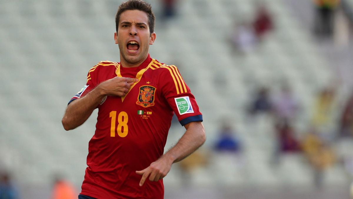 Coupe du monde Brésil 2014 : Jordi Alba «L'humilité est la force de l'Espagne» (vidéo)