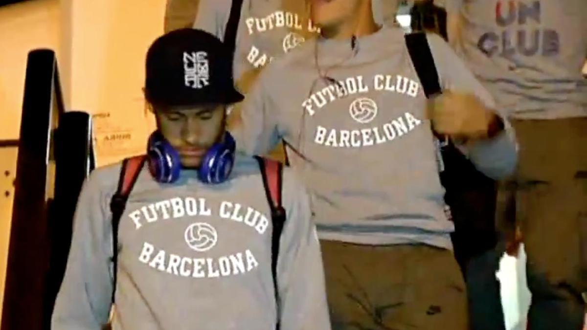 Ligue des Champions : La tristesse des joueurs du FC Barcelone (vidéo)