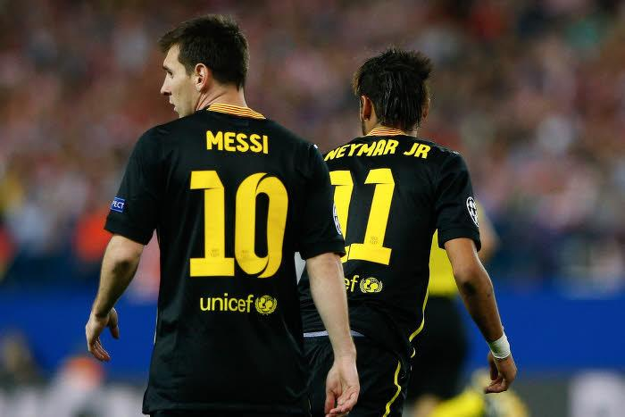Lionel Messi et Neymar, FC Barcelone