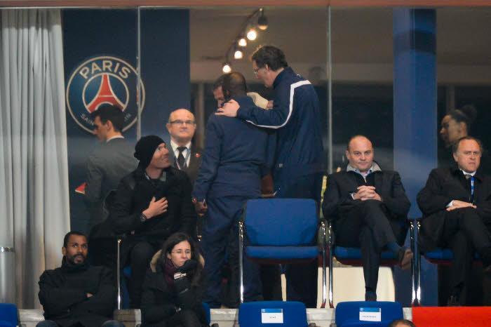 Blanc, Zidane, PSG
