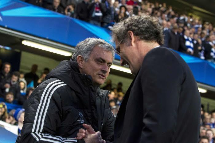 José Mourinho & Laurent Blanc
