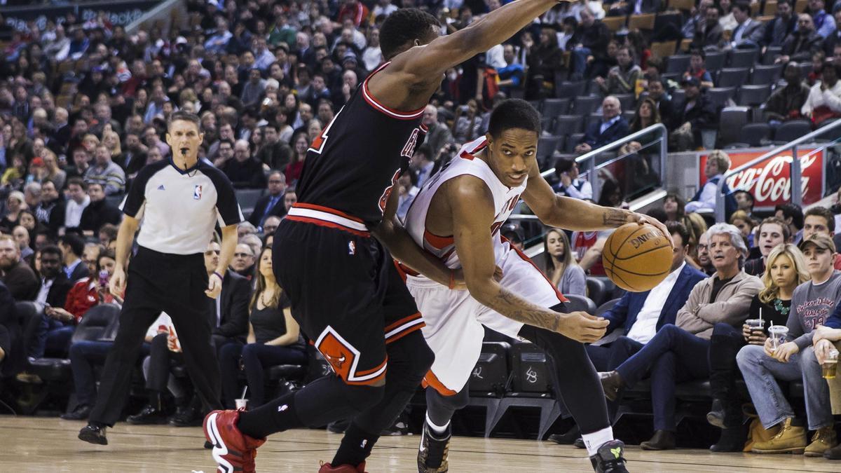 Basket - NBA : Le plus beau dunk de la nuit dernière par DeMar DeRozan (vidéo)