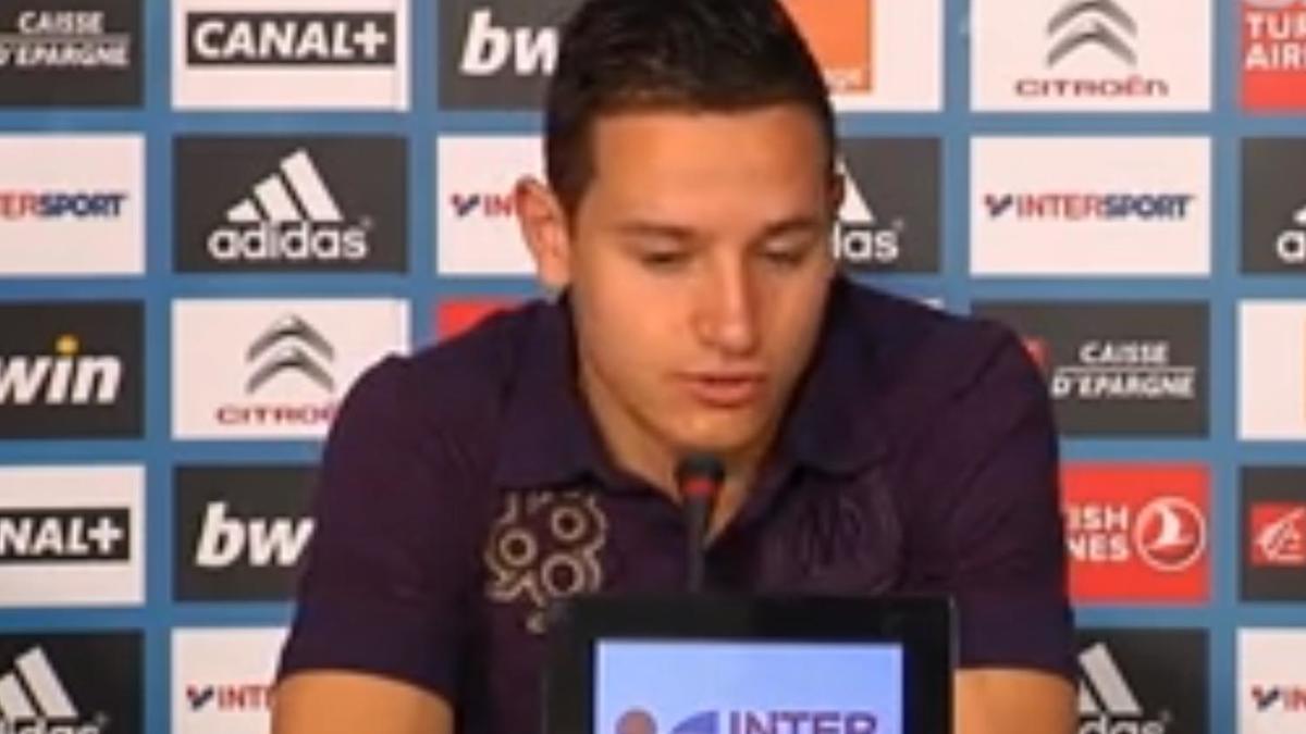 FC Nantes/OM : Florian Thauvin face aux médias (vidéo)