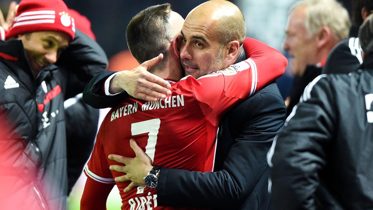 Franck Ribéry & Pep Guardiola