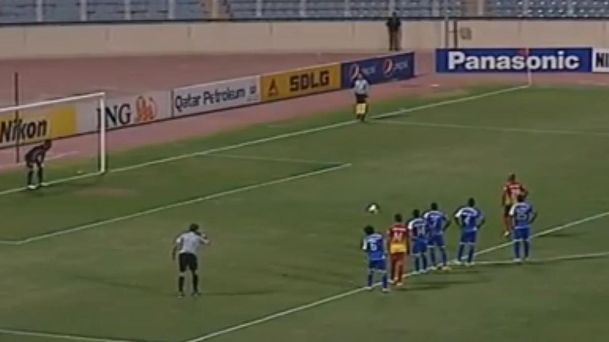 Un penalty tiré à la perfection ! (vidéo)