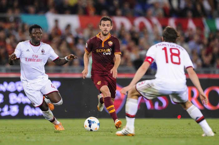 La Roma domine Milan et revient sur la Juventus !