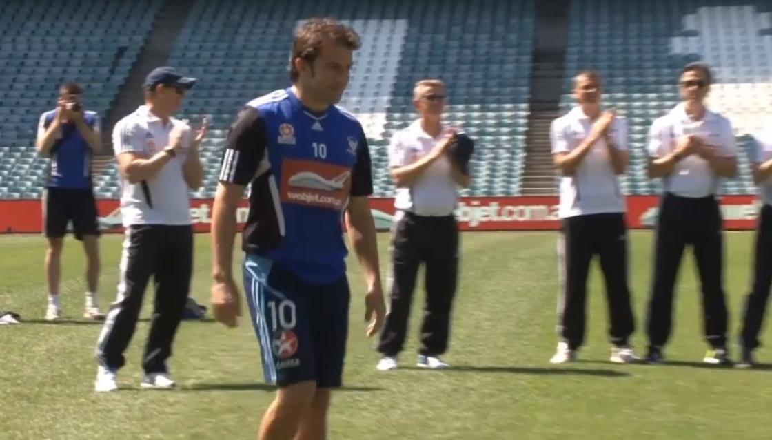 Del Piero quitte le FC Sydney (vidéo)