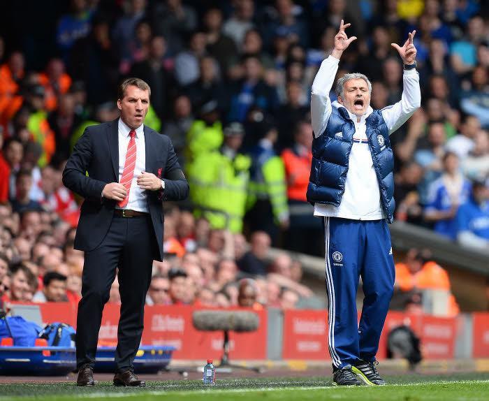 Brendan Rodgers, Liverpool, José Mourinho, Chelsea