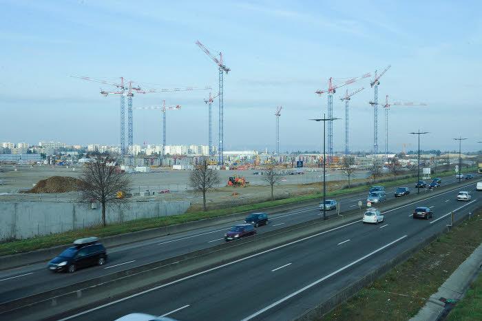 Le chantier du Grand Stade