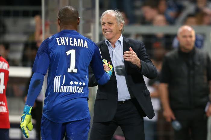 Vincent Enyeama et René Girard