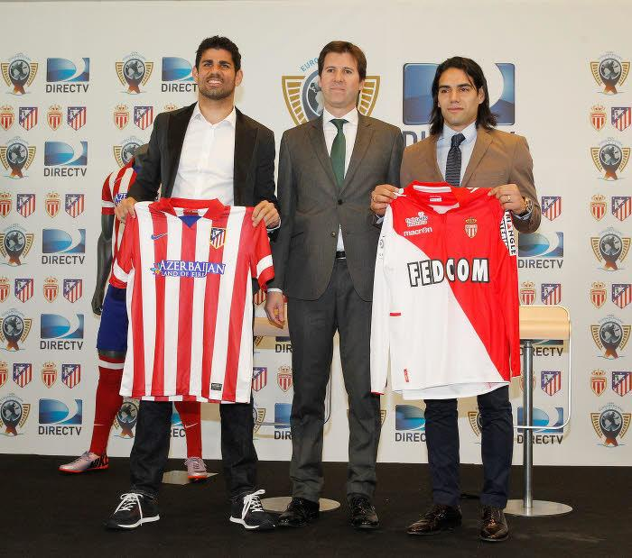 Radamel Falcao et Diego Costa
