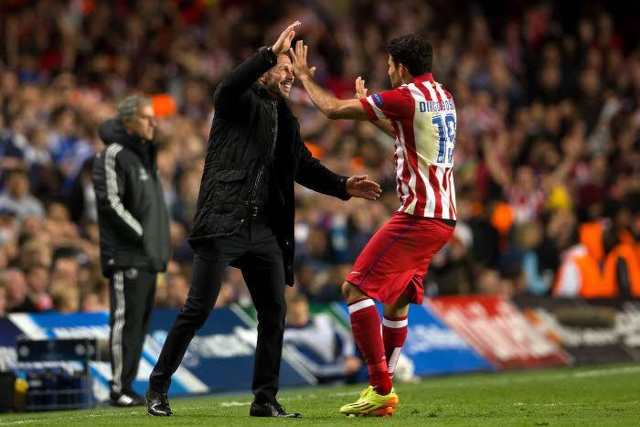 Diego Simeone & Diego Costa, Atlético Madrid
