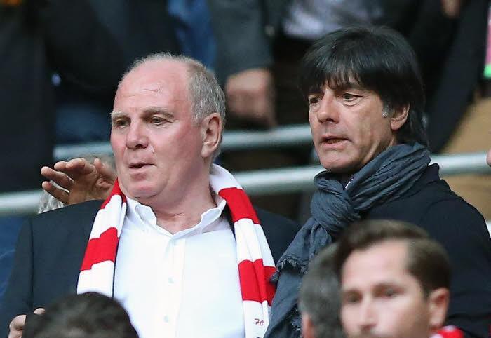Uli Hoeness et Joachim Löw