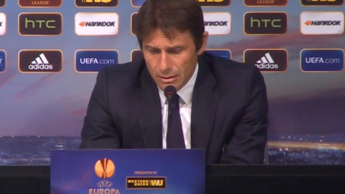 Europa League - Juventus : Conte l'a mauvaise (vidéo)
