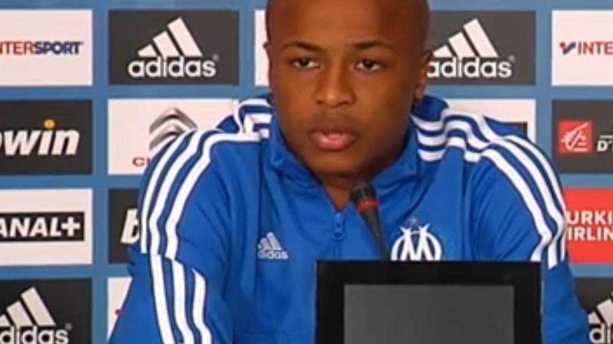 OM/OL : André Ayew face aux médias (vidéo)