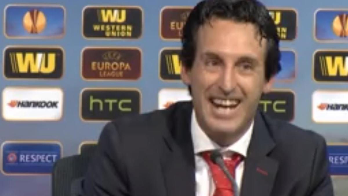 Europa League - Séville: Unai Emery satisfait de Mbia (vidéo)