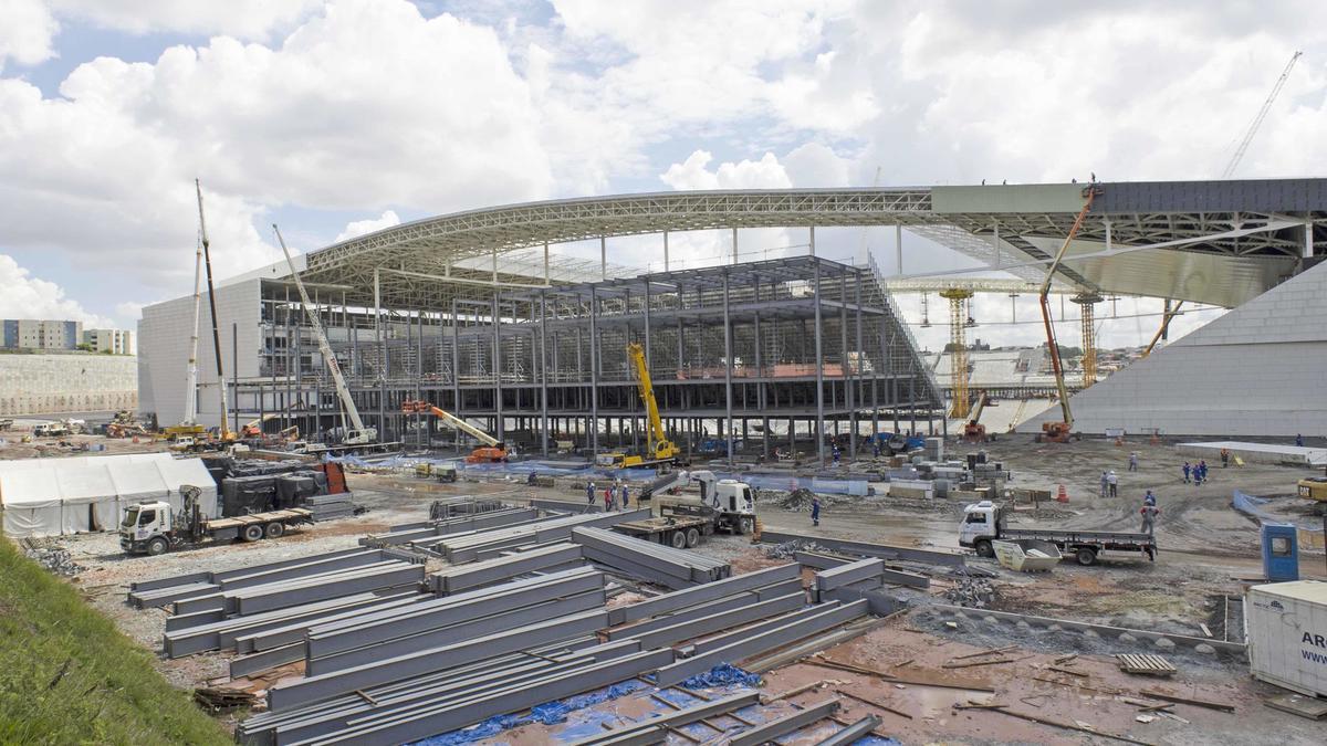 Coupe du monde Brésil 2014: Premier match au stade de Sao Paulo (vidéo)